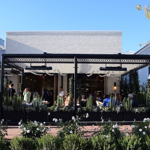 Porta Via Pacific Palisades: a neighborhood restaurant with a world-class feel.