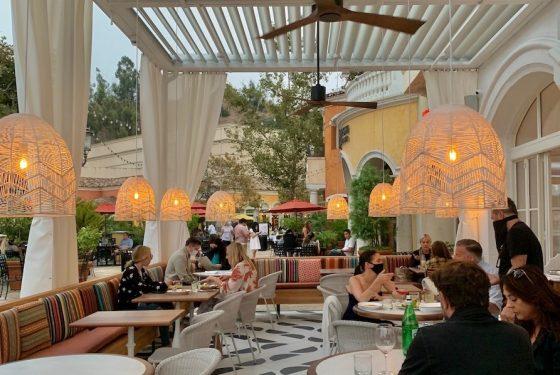 front patio Porta Via Calabasas